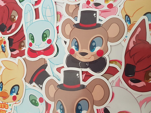FNAF Five Nights At Freddies Sticker Set