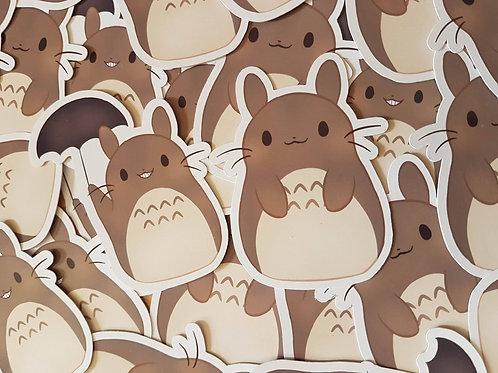 Totoro Ghibli Sticker