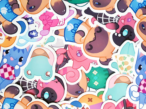 Animal Crossing Character Set 2 Stickers