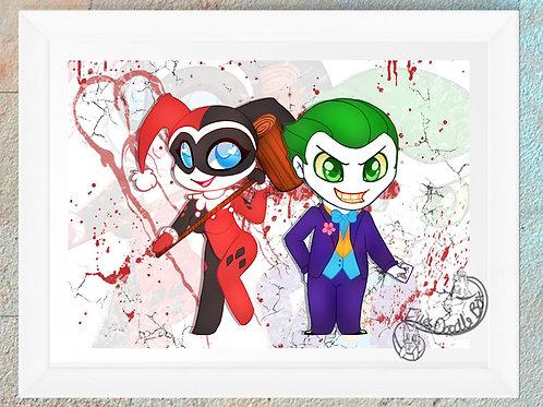 Joker and HQ Print