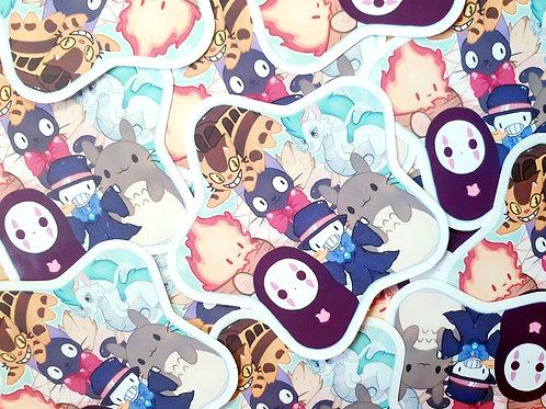 Studio Ghibli Star Sticker