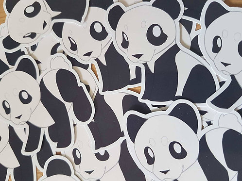 Panda Animal Sticker Set