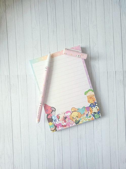 Animal Crossing NotePad