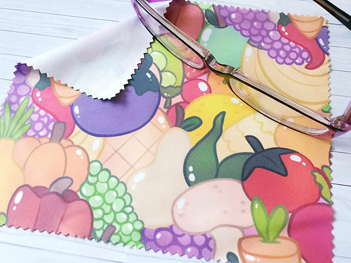 Vegetable Lens Cleaning Cloth - for glasses and screens