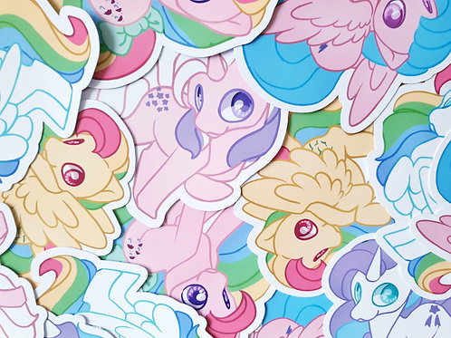 MLP Gen 1 Sticker Set
