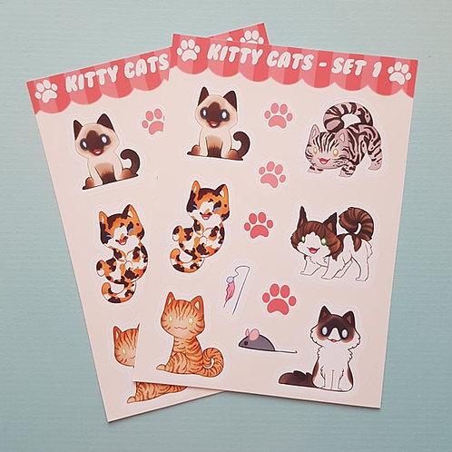 Cat Sticker Sheet
