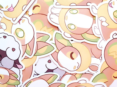 Yamper Stickers