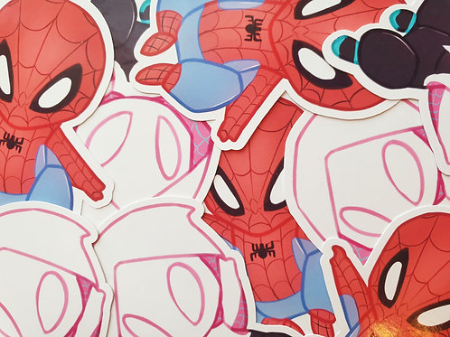 Spiderman Gwen Stickers
