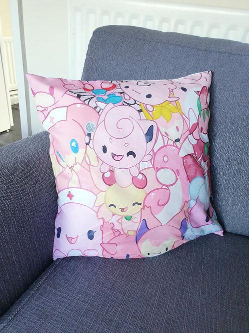 Pink Pokemon Cushion
