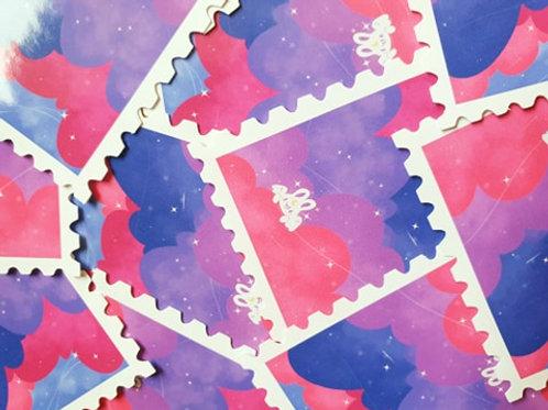 Stamp Cloud Sticker