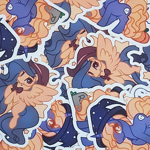 Halloween Pony Stickers