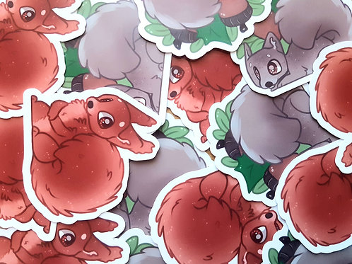 Squirrel Stickers