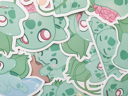 Bulbasaur Pokemon Sticker
