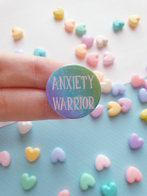 Anxiety Warrior Badge