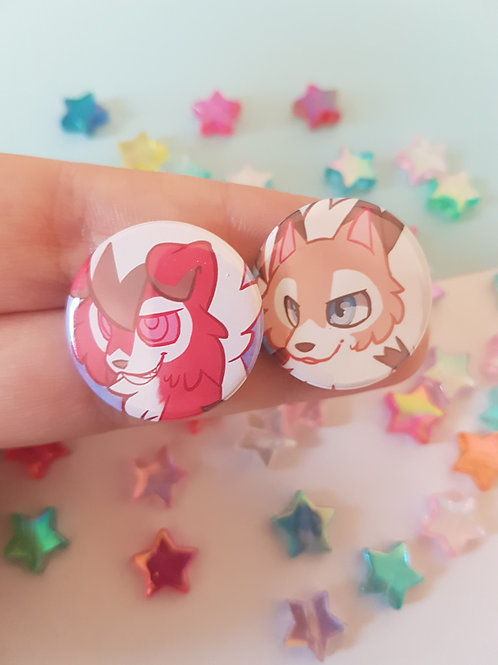 Lycanroc Badges
