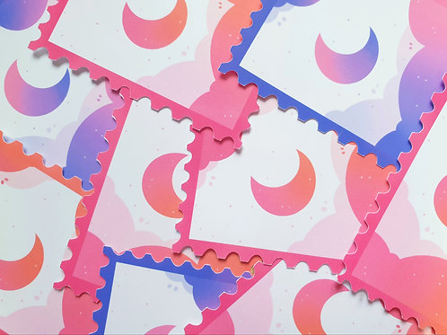 Stamp Cloud Stickers