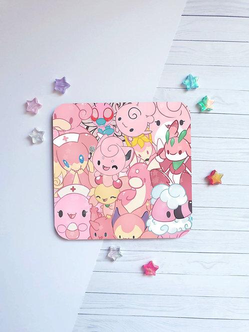 Pink Pokemon Coaster