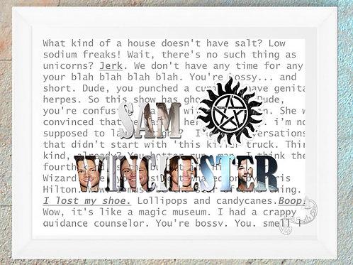 Supernatural Sam Winchester Quotes