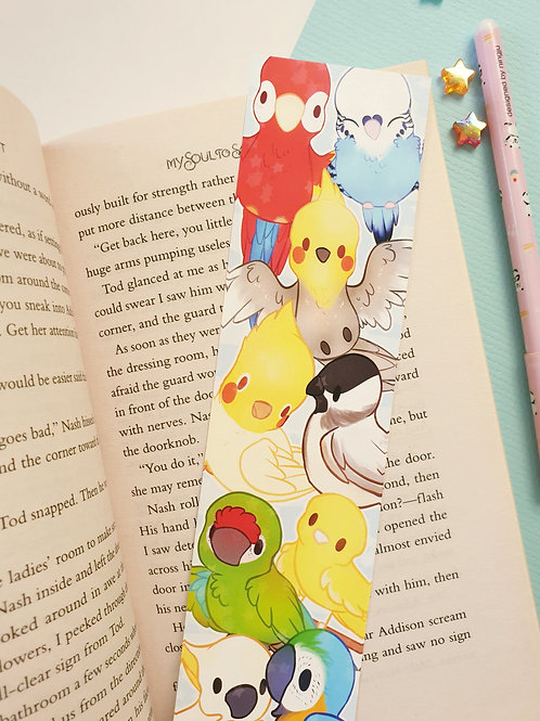 Birds Bookmark