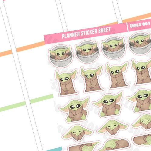 The Child Sticker Sheet