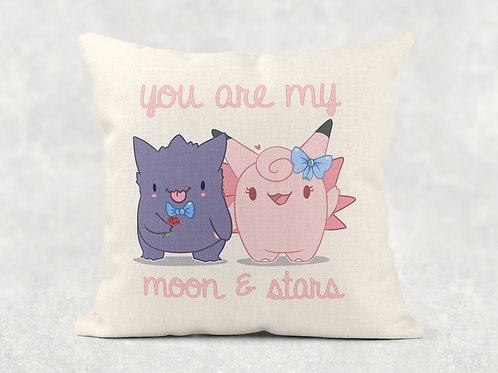 Gengar & Clefable Cushion