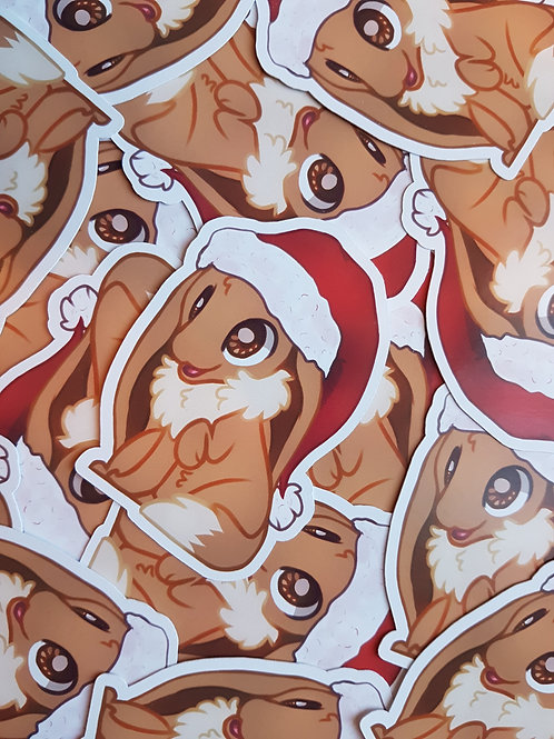 Eevee Xmas Sticker
