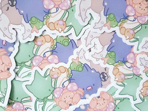 Bug Pokemon Group 1 Sticker
