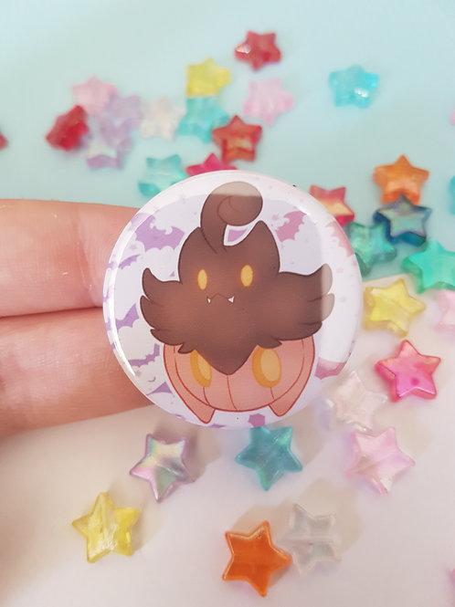 Pumpkaboo Pin Badge Button