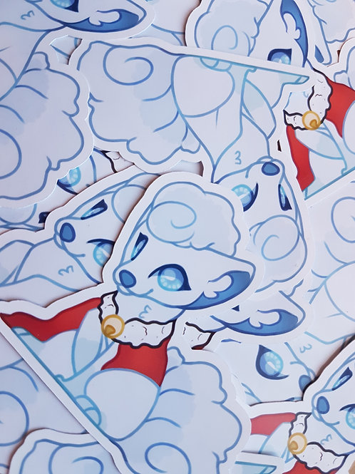 Alolan Vulpix Stickers