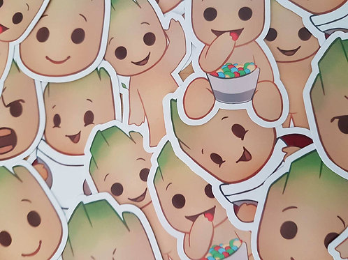 Groot Sticker Set