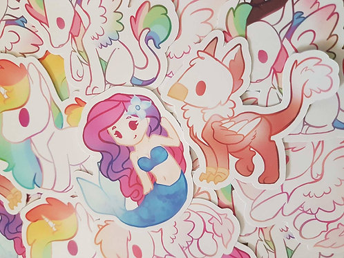 Mythical Creature Stickers