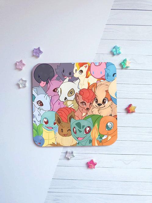 Pokemon Mix Coaster