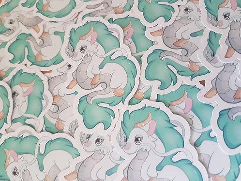 Haku Spirited Away Sticker