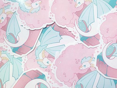 Sakura Tree / Dragon Sticker