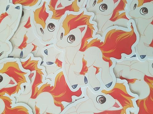 Ponyta Sticker