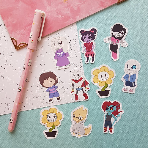 Undertale Small Sticker Set