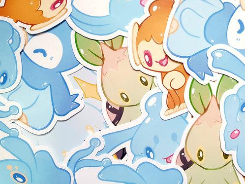 Sinnoh Pokemon Stickers
