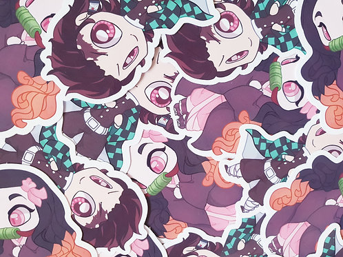 Demon Slayer Stickers