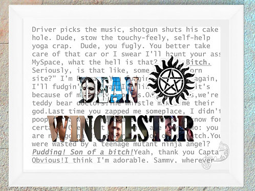 Supernatural Dean Winchester Quotes