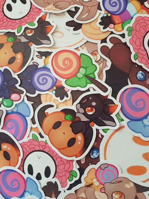 Halloween Stickers Set 2