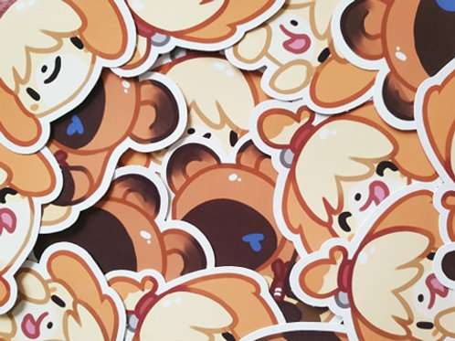 Isabelle & Nook Stickers