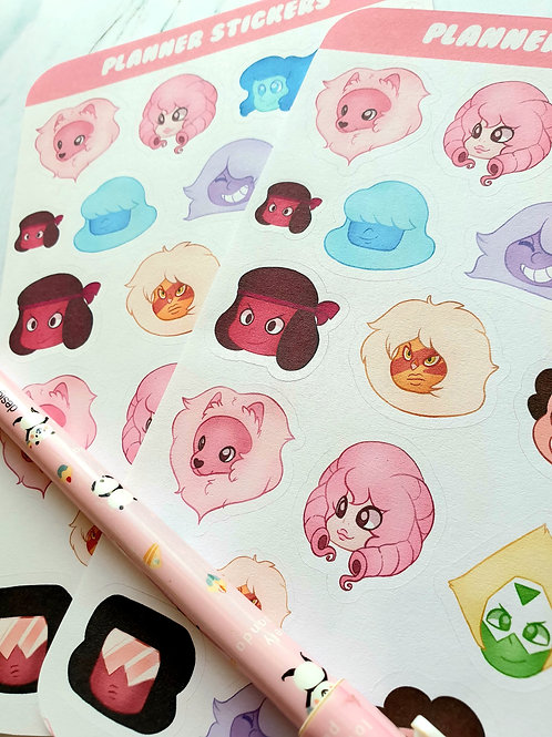 Steven Universe Sticker Sheet