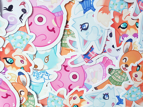 Animal Crossing Character Set 3 Stickers