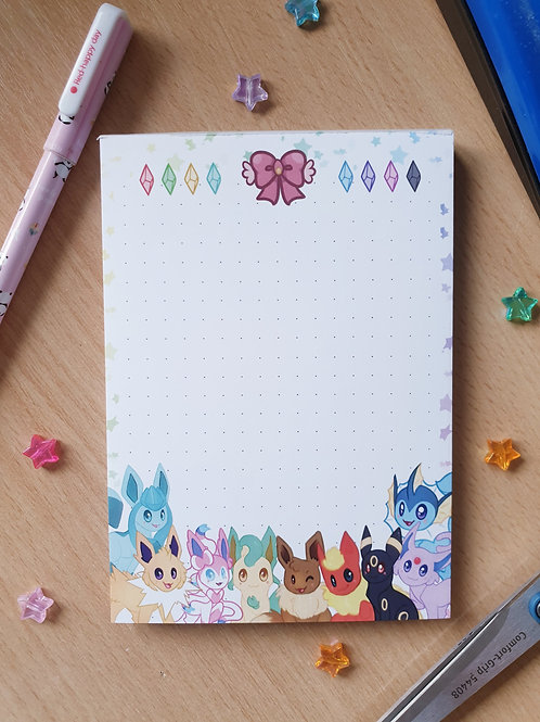 Eeveelutions NotePad