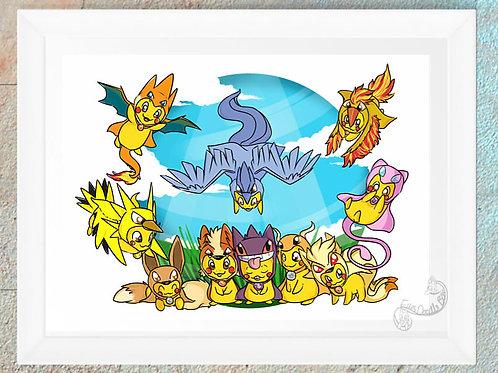 Pokemon Pikazard Collection