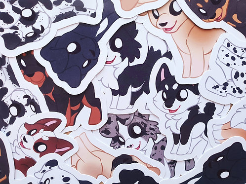 Dog Breed Stickers