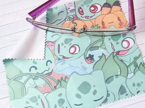 Bulbasaur Lens Cleaning Cloth - for glasses and screens