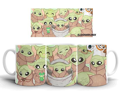 Green Baby Mug