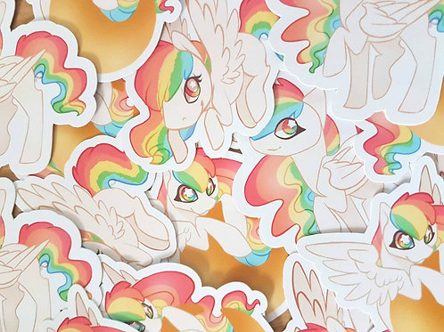 Rainbow Pegasus Animal Sticker Pack