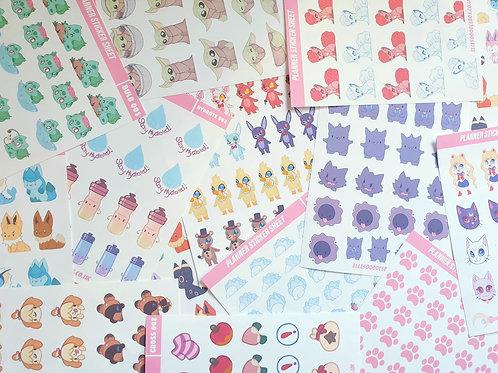 Miscut Sticker Pack